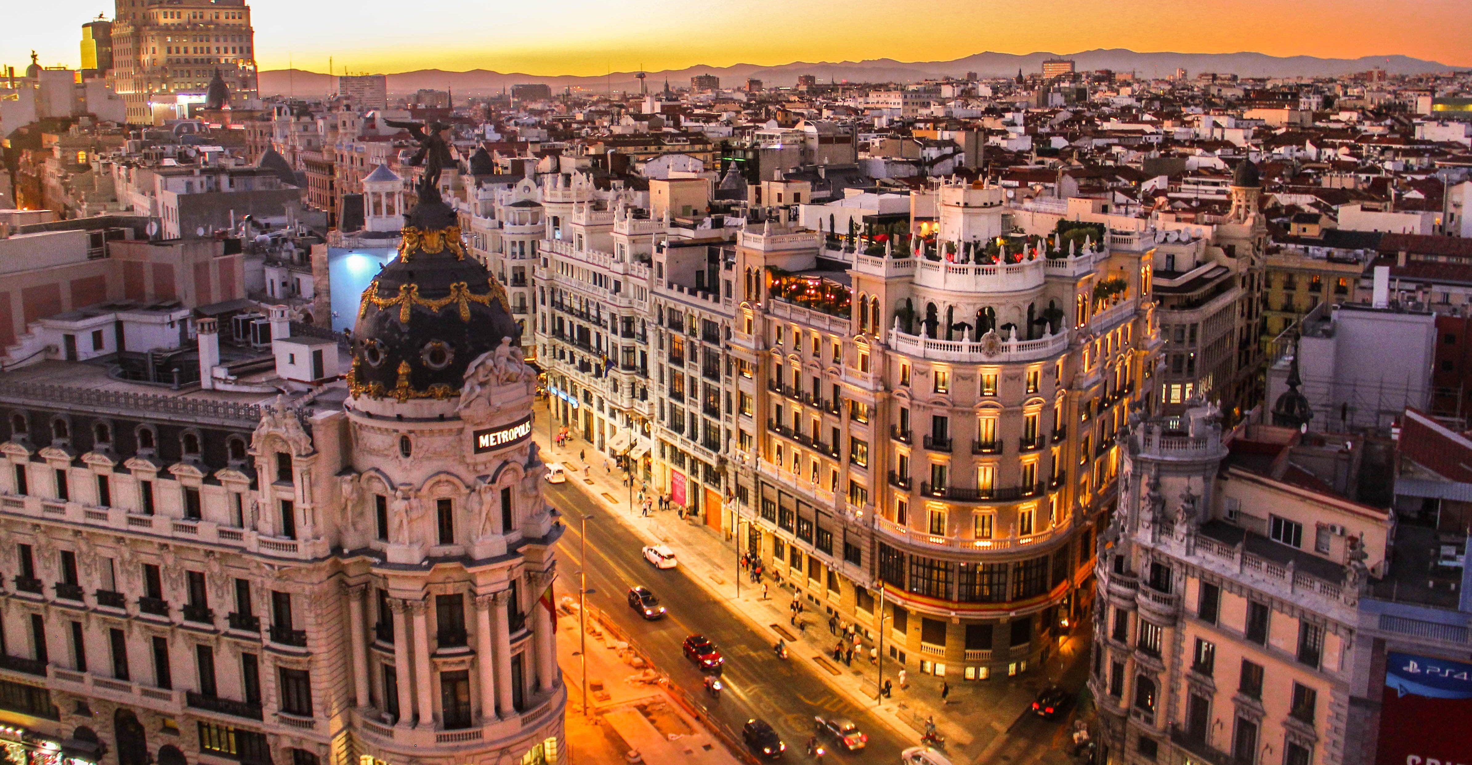 Planes urbanitas para este puente en Madrid