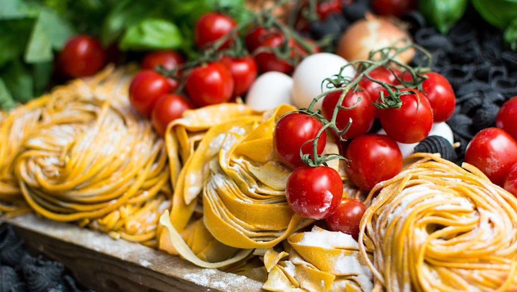 Ingredientes receta fácil Tagliatelle a la boloñesa