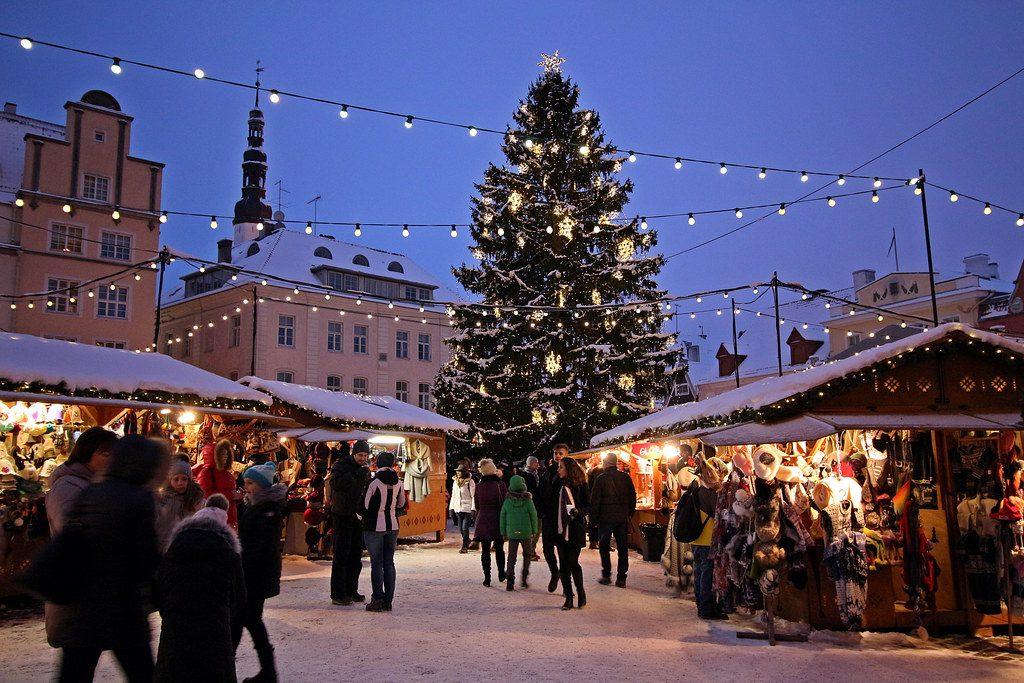 Christmas Market Tallin