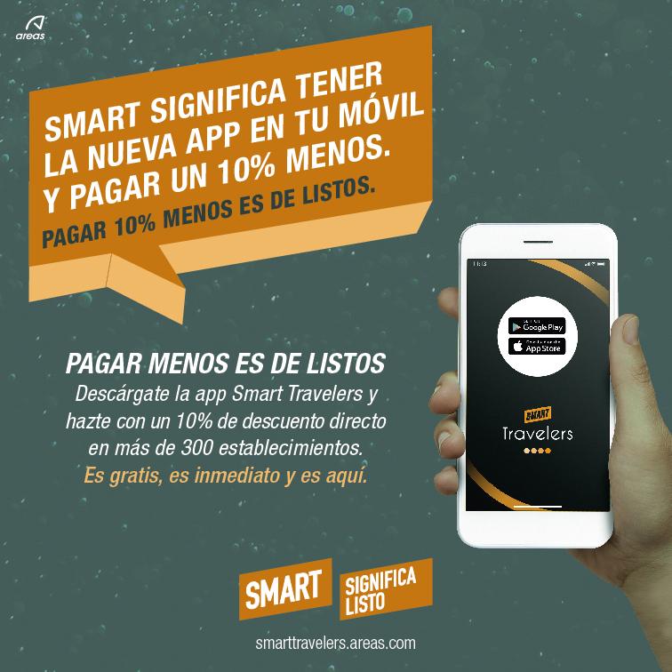 Hazte Smart Traveler y consigue el 10% en tus consumiciones